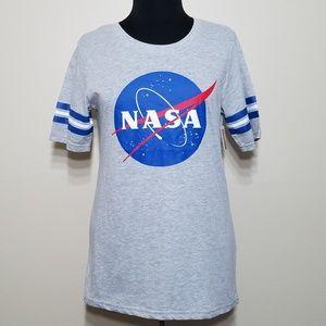Hybrid NASA' Short Sleeve Tshirt Lightweight Crew